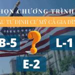 Đầu tư định cư Mỹ: Nên chọn visa EB-5, E-2 hay L-1?