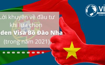 Lời khuyên dành cho các nhà đầu tư mới Golden Visa Bồ Đào Nha